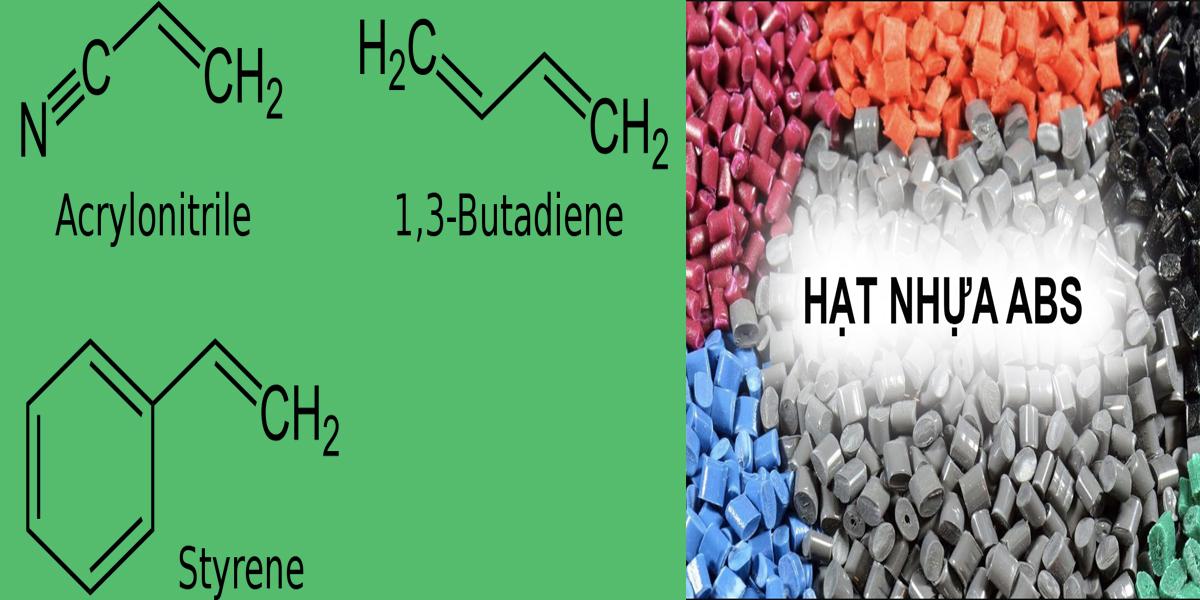 Cấu tạo phân tử nhựa ABS
