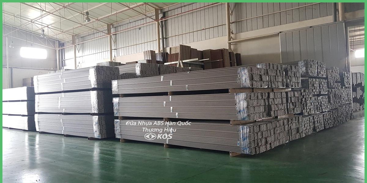 Nguyên vật liệu được nhập khẩu từ Hàn Quốc