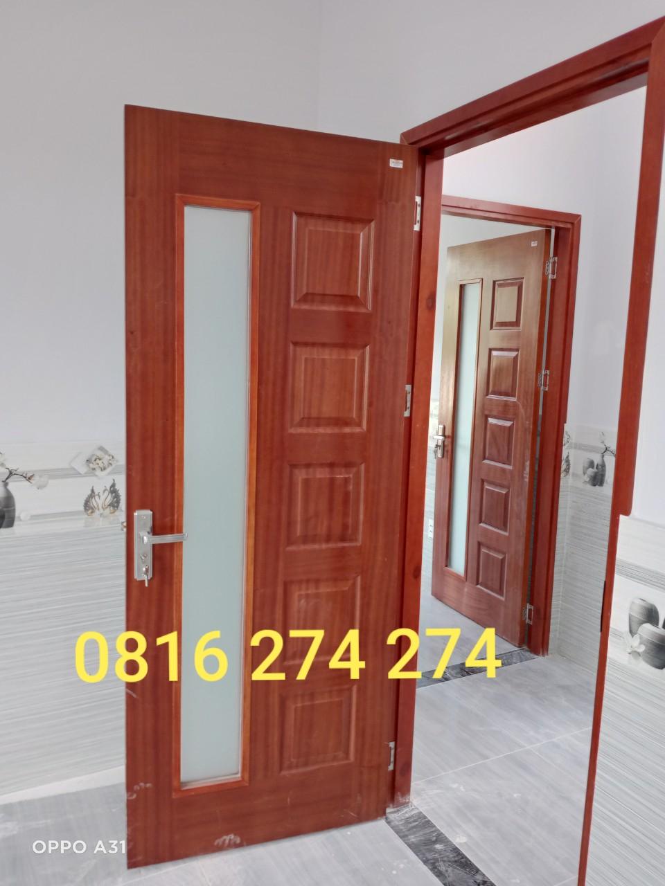 Cửa gỗ cong nghiệp HDF veneer 6BGL
