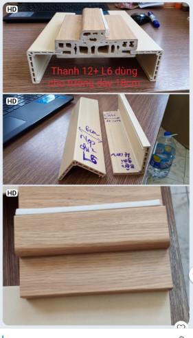 Khung bao cửa nhựa composite