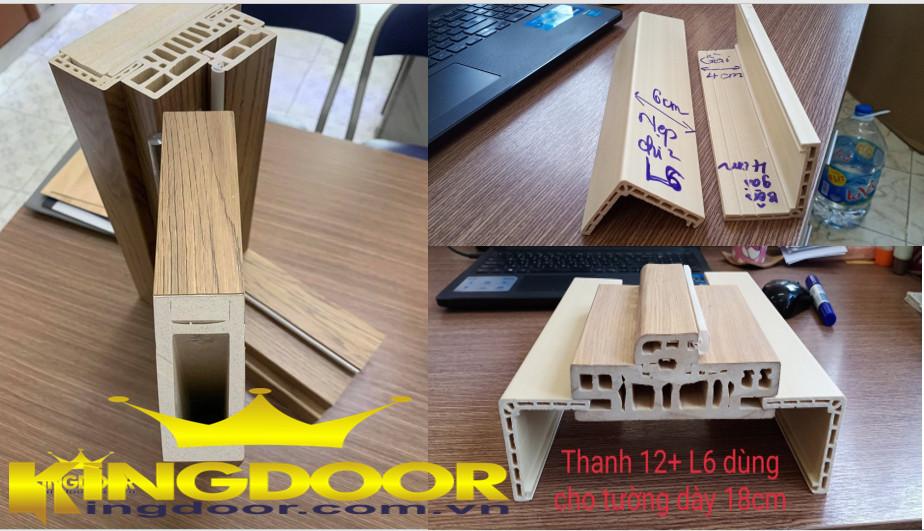 Khung bao và nẹp chỉ cửa nhựa composite